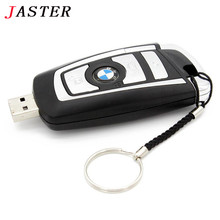 JASTER BMW Car key usb flash drive pendrive 32gb 16gb 8gb pen drive flash card memory stick u disk keychain gifts
