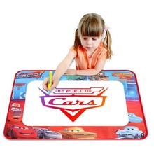 The World of Car Oversize Water Magic Painting Canvas Water Drawing Mat Water Doodle Baby Toy Drawing Board Eco-friendly