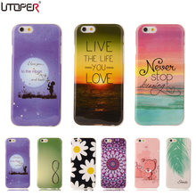 "Butterfly Flower Lips Coque For Apple iPhone 6 iphone 6s Case 4.7"" Cute Soft Plastic Silicone Cartoon Printing Phone Cover"
