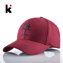 Snapback Cotton Solid Baseball Cap Tree Embroidery Dad Hat For Women Men Outdoors Casual Hockeys Gorras Drake Bones Masculino