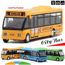 Specials Diecast Metal model 1:32 Alloy pull back school bus gift toy cars MiNI alloy car toys free shipping