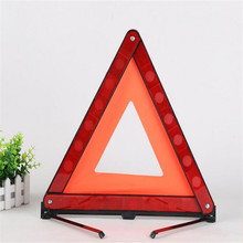 30PCS X Emergency Warning Triangle Foldable Reflective Safety Sign Roadside(China)