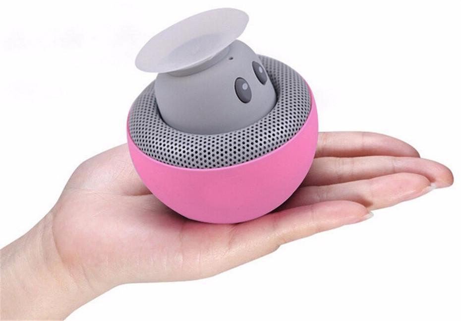 Wireless Mini Bluetooth Speaker Portable Mushroom Waterproof Stereo Bluetooth Speaker for Mobile Phone iPhone Xiaomi Computer PC  (8)