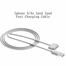 Hot sales High Quality Data Sync Fast Charging USB Cable Mobile Phone carregador for Iphone 4 4s Ipad mini Ipod charger