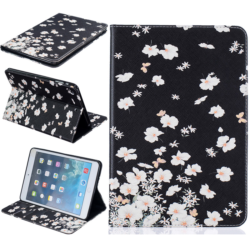 High Quality Painting PU Leather Slim Stand Case For Apple iPad mini Case Cover For iPad mini 1 2 3 7.9 inch Capa <br><br>Aliexpress
