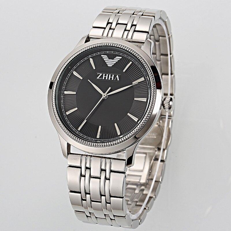 ZHHA New Fashion Women Man Couple Wristwatch Stainless Steel strap Analog Quartz Casual Watch ZW018 Masculino Feminino Relogio<br><br>Aliexpress