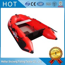 2017 High quality factory inflatable yacht for sale/small sailing boat for fishing(China)