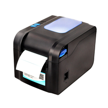XP-370B Label Barcode Printers Thermal Label Printer 20mm to 80mm Thermal Barcode Printing with AUTO Cutting Paper Function