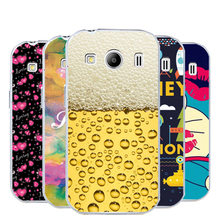HOT Cute Cartoon Fashion Painting Plastic Hard Phone Back Cover Case For Samsung Galaxy Ace 4 Style LTE G357 G357FZ SM-G357FZ(China)
