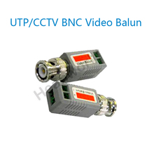 UTP,cctv BNC video Balun cctv camera Transceivers with PCB board inside stable CCTV spare parts video balum for camera and DVR