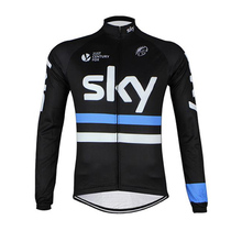 2016 SKY Pro Team Cycling jersey Long Sleeve Racing Bike Cycle Clothing Mtb Bicycle clothes Sportwear maillot Ropa Ciclismo Race