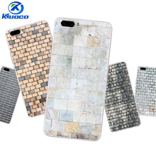 Custom DIY For Huawei P10 / P10 Plus Phone Case For Huawei Honor 6 / 6X / 6Plus Cover Transparent Soft TPU Bricks Printing