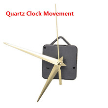 Quartz Clock Movement Mechanism Clock Hands DIY Repair Part Kit Long Spindle 22mm Clockwork For Clock Repair Cross Stitch Crafts