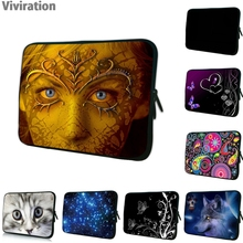 Viviration Neoprene Duo Zippers 2017 Xmas Boys Girls Kids New Gift Bag Cover Protector For 7 10 12 13 14 15 17 Tablet Laptop PC(China)