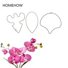 2017 Newest 3PCS/Set Stainless Steel Butterfly Orchid Cake Cutting Sets Kitchen Accessories Flower Petal Fondant Cutting Mold