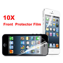 10 pcs/lot Special Discount Transparent Front Screen Protector for Apple iPhone 4 4s WHD704(China)