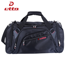 Etto Soccer Basketball Jogging Training Bags for Team Sports Men Women Large Storage Gym Bag for Fitness with Shoes Bag HAB302(China)
