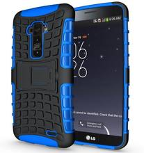 For LG G Flex Case D958 F340L F340S F340 Heavy Duty Armor Kickstand Hybrid Hard Composite TPU ShockProof Cover