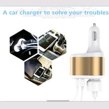 Hot Sale car charger Accessories for solaris Skoda Rapid toyota rav4 kia k2 vw passat b6 lada kalina ssangyong car styling