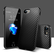 Texture TPU Silicone Anti-Knock Leather Skin Protection mobile phone case bumper on for iPhone 5s case for iPhone 5 5s 6 6s 7P
