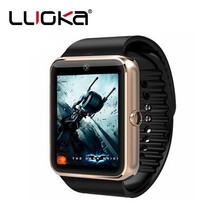 LUOKA Smart Watch GT08 Clock With Sim Card Slot Push Message Bluetooth Connectivity Android Phone Smartwatch GT08