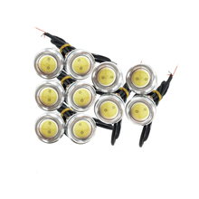 10pcs High brightness DRL Eagle Eye Daytime Running Light LED Car fog Lights Source Waterproof Parking lamp(China)