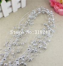 1m*6pcs circle beads chain Home decoration DIY Garland 055005001(19)