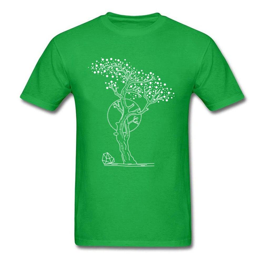 Pointilism Tree Life_green