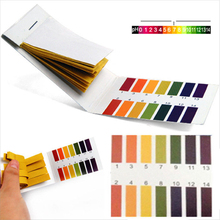 pH Test Strips Universal Full Range Litmus Paper 1-14 Acidic Alkaline Indicator Food Urine Lab Soil Body Aquarium Water Tester(China)