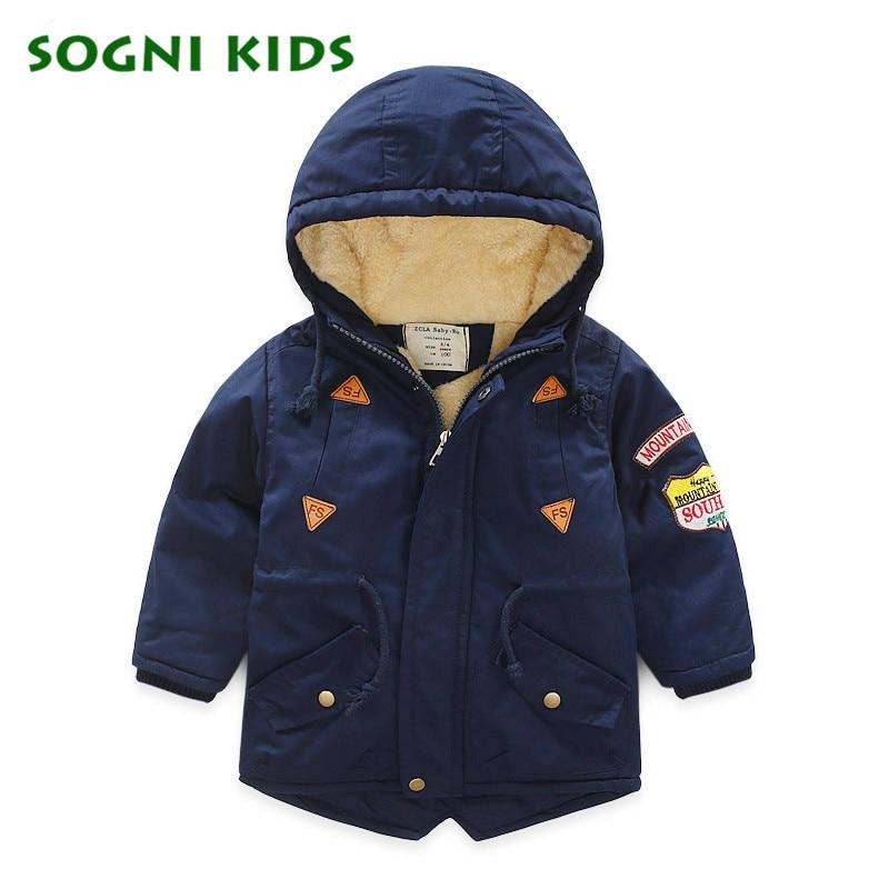 Kids Winter Jacket Coats for Girls Boys Children Fleece Parkas Russian Toddler Outerwear Thicken Super Warm Solid Winter ClothesÎäåæäà è àêñåññóàðû<br><br>