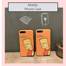 Cartoon The Simpson IMD Soft TPU Skinny Cover Case For Mobile Phone 7/7plus 6/6s and 6p/6sp Skin Body Protector Cover Case