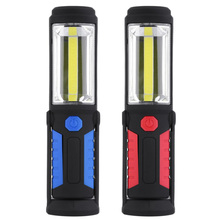 USB Rechargeable COB LED Magnetic Work Hand Lamp Tent Light Hanging Portable Lantern for Outdoor Fishing Camping Emergency Torch