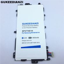 4800mAh SP3770E1H Li-ion Tablet Battery For Samsung Galaxy Note 8.0 GT N5100 N5110 N5120 Rechargeable Lithium Polymer Batteries(China)
