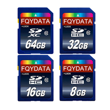Real Capacity Memory card 32GB 64GB class 10 sd card 8GB 16GB Transflash SDCard flash USB memory SD Card 32gb C10 High Speed