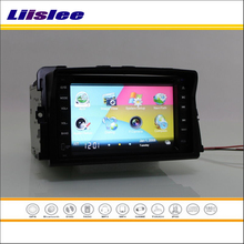Liislee For Nissan Primastar / For Opel Vivaro Radio CD DVD Player GPS Navigation System Double Din Car Audio Installation Set(China)