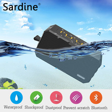 Original Sardine F5 Portable wireless Bluetooth Speaker Amplifier Stereo Outdoor waterproof mini HIFI Speakers with MIC