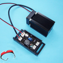 150mW 405nm Blue Purple Laser Module Engraving TTL Control Laser Tube Diode with Protective goggles