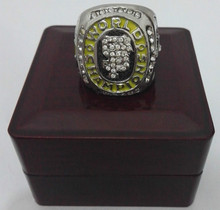 2010  San Francisco Giants Baseball Zinc Alloy silver plated Custom Sports Replica World Championship Ring With Wooden Boxes