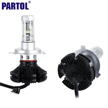 X3 Partol H4 H7 H11 9005 9006 H13 Voiture LED Phares Ampoules 50 W 6000LM CREE Puces Tout en un CSP LED Phare 3000 K 6500 K 8000 K