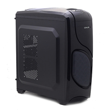 Desktops host computer case atx matx usb3.0 notum line black(China)