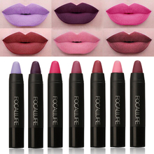 edition Makeup Matt Sexy Lips Color Cosmetics Pigment Nude Red Waterproof long lasting Focallure Matte Lipstick Pencil