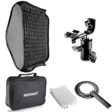 "Neewer 24""x24""/60x60cm Honeycomb Grid Flash Softbox Diffuser with L-type Bracket and Bag for Nikon SB-600,SB-800 Canon 380EX(China)"