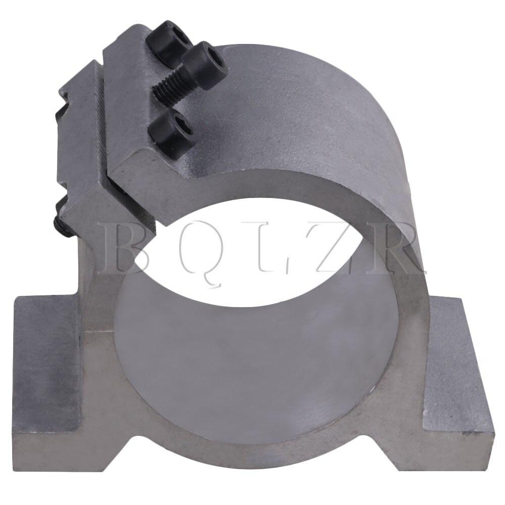 CNBTR 80mm Tilted Spindle Motor Mount Bracket Clamp for CNC Engraving Machine <br>