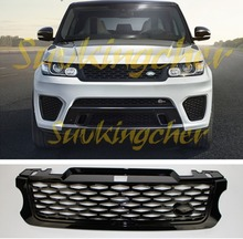 High quality for Land Rover Range Rover sport SVR 2014 2015 2016 2017 front grille front mesh grill