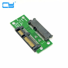 "3.5"" & 2.5 inch SATA 22Pin 7+15 Male to SATA 22P Female Extension Convertor Adapter PCBA(China)"