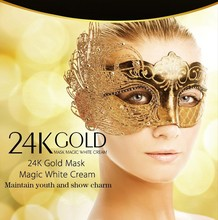 24k gold anti-aging face cream face lifting firming acne treatment facial skin whitening and moisturizing products bottle / 135g