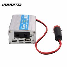 12V DC to AC 220V 50HZ 200W Car Power Inverter Converter Adapter Adaptor Modified Sine Wave Power with USB 5V Output