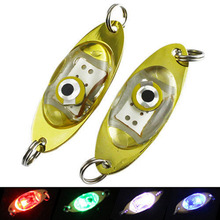 LED iron lined fish light LED electronic light sequins Road sub-fish bait boat fishing under the water under the water 2017 New