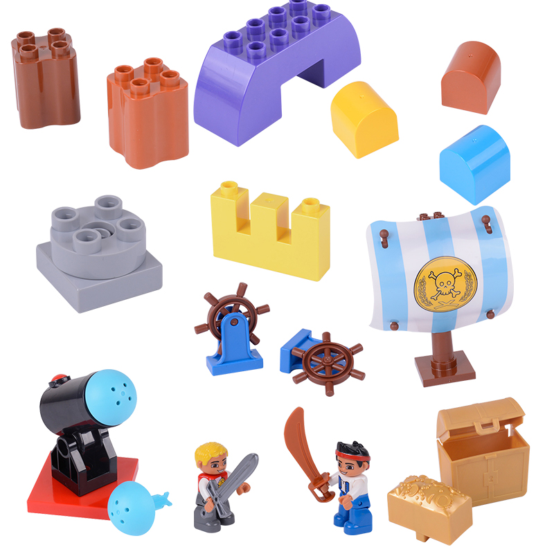 Legoing Duplo Second Floor House Furniture Accessories Building Blocks Educational Toys for Children Compatible Legoings Duploed
