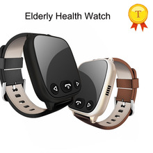 2017 best quality Elder Persons Healty Smart Watch Phone GSM Smart Watch with Blood Pressure Heart Rate Sensor for ios adroid